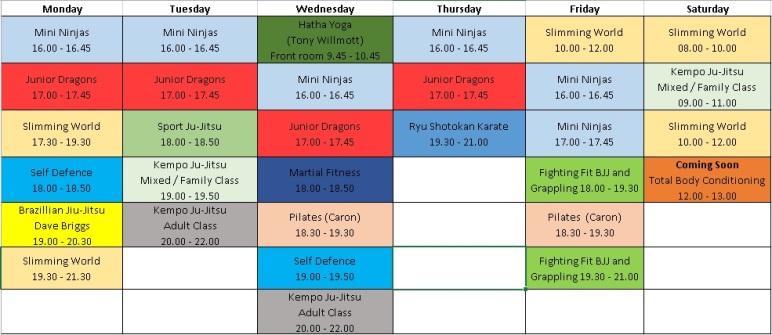 Timetable jpeg